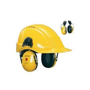 Mušlové chrániče sluchu 3M PELTOR H510P3E-410-GQ na přilbu