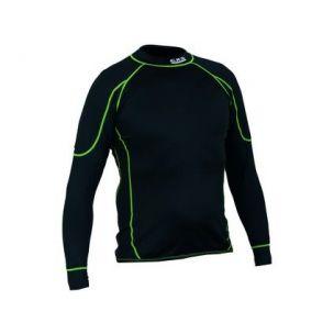 Tričko REWARD, funkční, dlouhý rukáv, pánské, černo-zelené