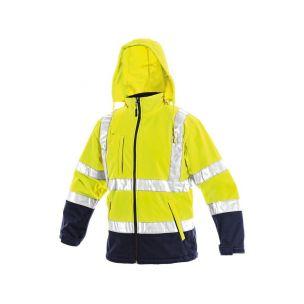 CXS DERBY Reflexní bunda žlutá