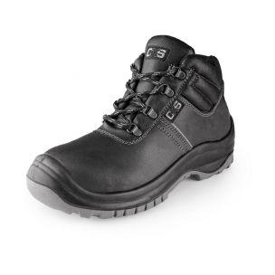 Obuv kotníková SAFETY STEEL MANGAN S3, černá