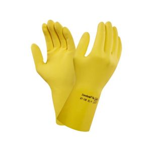 Rukavice ANSELL ECONOHANDS PLUS 87-190, máčené v latexu