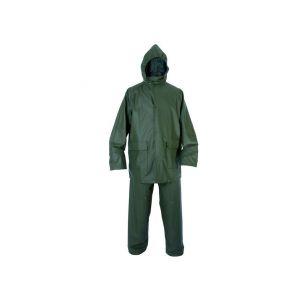 Oblek PU, nepromokavý, zelený