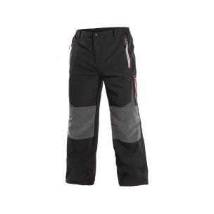 Kalhoty MONTREAL, pánské, černo-oranžové