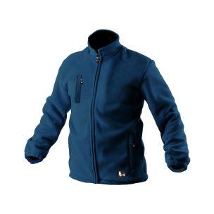 Bunda OTAWA, fleecová, modrá